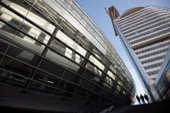 Σύγχρονα κτήρια του γυαλιού και του χάλυβα Στοκ φωτογραφία με δικαίωμα ελεύθερης χρήσης