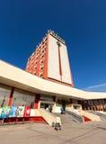 Σύγχρονα κτήρια του σιδηροδρομικού σταθμού στην πόλη Lipetsk Ρωσία Στοκ Εικόνα