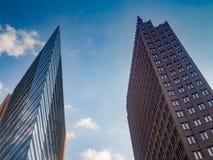 Σύγχρονα κτίρια γραφείων σε Potsdamer Platz, Βερολίνο στοκ φωτογραφίες