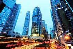 Σύγχρονα κτίρια γραφείων στο Χονγκ Κονγκ Στοκ Φωτογραφίες