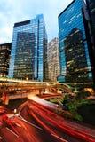 Σύγχρονα κτίρια γραφείων στο Χονγκ Κονγκ Στοκ Φωτογραφία