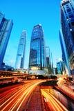 Σύγχρονα κτίρια γραφείων στο Χονγκ Κονγκ Στοκ εικόνα με δικαίωμα ελεύθερης χρήσης