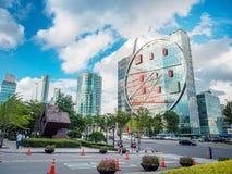 Σύγχρονα κτίρια γραφείων την 1η Σεπτεμβρίου 2017 στην περιοχή ι Gangnam Στοκ φωτογραφία με δικαίωμα ελεύθερης χρήσης