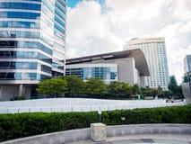 Σύγχρονα κτίρια γραφείων την 1η Σεπτεμβρίου 2017 στην περιοχή ι Gangnam Στοκ Εικόνες