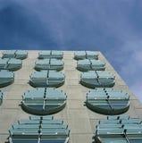 Σύγχρονα κυκλικά παράθυρα Στοκ φωτογραφίες με δικαίωμα ελεύθερης χρήσης