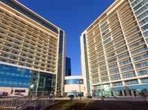 Σύγχρονα ξενοδοχεία πολυτελείας Pullman στην πόλη Μαύρης Θάλασσας του Sochi Στοκ Εικόνα