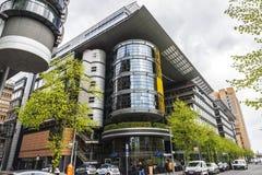 Σύγχρονα πολυκατοικίες και γραφεία στο Βερολίνο, Γερμανία Στοκ Εικόνες