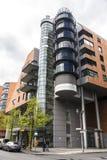Σύγχρονα πολυκατοικίες και γραφεία στο Βερολίνο, Γερμανία Στοκ Φωτογραφίες