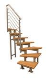 σύγχρονα σκαλοπάτια στοκ εικόνα