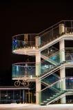Σύγχρονα σκαλοπάτια της λεωφόρου αγορών Στοκ Εικόνες