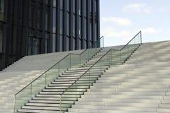 Σύγχρονα σκαλοπάτια Στοκ Φωτογραφία
