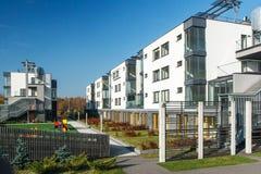 Σύγχρονα σπίτια διαβίωσης Στοκ Φωτογραφία