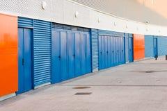 Σύγχρονες αποθήκες εμπορευμάτων Στοκ εικόνα με δικαίωμα ελεύθερης χρήσης