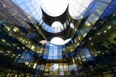 Σύγχρονες αρχιτεκτονικές γραμμές Λονδίνου Στοκ Φωτογραφίες