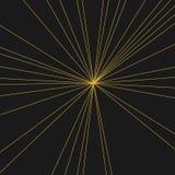 Σύγχρονες αφηρημένες ακτίνες του φωτός και του υποβάθρου Στοκ Εικόνες