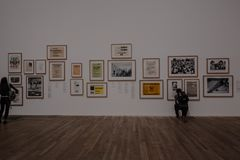 Σύγχρονες εικόνες του Tate στοκ φωτογραφίες