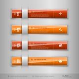 Σύγχρονες επιχειρησιακές ετικέττες - infographics - πρότυπο για το σχέδιο Ιστού ή διανυσματική απεικόνιση