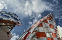 Σύγχρονες λεπτομέρειες αρχιτεκτονικής Στοκ φωτογραφία με δικαίωμα ελεύθερης χρήσης
