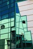 Σύγχρονες λεπτομέρειες αρχιτεκτονικής, Wroclaw, Πολωνία στοκ εικόνες