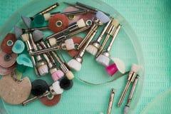 Σύγχρονες εργαλειομηχανές του διάφορου endodontic χαρακτηρισμού Στοκ εικόνες με δικαίωμα ελεύθερης χρήσης