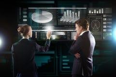 Σύγχρονες τεχνολογίες σε λειτουργία Στοκ Εικόνα