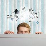 σύγχρονες τεχνολογίες Στοκ φωτογραφίες με δικαίωμα ελεύθερης χρήσης