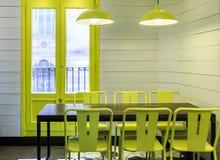 Σύγχρονη λάμπα φωτός σε ένα dinning δωμάτιο Στοκ φωτογραφία με δικαίωμα ελεύθερης χρήσης