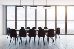 Σύγχρονη αίθουσα συνεδριάσεων ελεύθερη απεικόνιση δικαιώματος