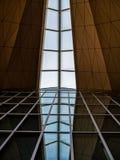 Σύγχρονη αρχιτεκτονική αφαίρεση Στοκ εικόνα με δικαίωμα ελεύθερης χρήσης