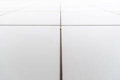 Σύγχρονη αρχιτεκτονική λεπτομέρεια πρόσοψη Στοκ φωτογραφία με δικαίωμα ελεύθερης χρήσης