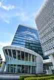 Σύγχρονη αρχιτεκτονική κτιρίου γραφείων σε Putrajaya, Μαλαισία η φωτογραφία λήφθηκε το 15/05/2017 Στοκ Εικόνες