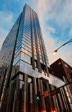 Σύγχρονη αρχιτεκτονική ουρανοξυστών, Σικάγο Ιλλινόις στοκ φωτογραφία με δικαίωμα ελεύθερης χρήσης