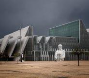 Σύγχρονη αρχιτεκτονική Σαραγόσα στοκ εικόνα