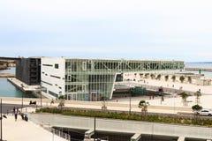 Σύγχρονη αρχιτεκτονική στη Μασσαλία, Γαλλία Στοκ Εικόνα