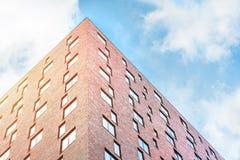Σύγχρονη αρχιτεκτονική στη νέα πόλη στις Κάτω Χώρες Στοκ Εικόνες
