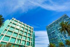 Σύγχρονη αρχιτεκτονική στο Plaza Independencia στο Μοντεβίδεο Στοκ φωτογραφία με δικαίωμα ελεύθερης χρήσης