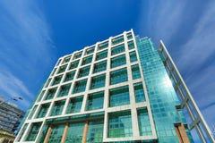 Σύγχρονη αρχιτεκτονική στο Plaza Independencia στο Μοντεβίδεο Στοκ Εικόνα
