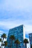 Σύγχρονη αρχιτεκτονική στο Plaza Independencia στο Μοντεβίδεο Στοκ φωτογραφίες με δικαίωμα ελεύθερης χρήσης
