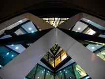 Σύγχρονη αρχιτεκτονική του Λονδίνου - ορίζοντας - το αγγούρι Στοκ εικόνες με δικαίωμα ελεύθερης χρήσης