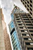 Σύγχρονη αρχιτεκτονική του Χογκ Κογκ Στοκ εικόνες με δικαίωμα ελεύθερης χρήσης