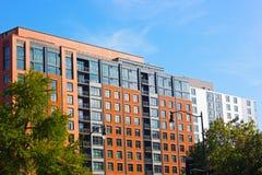 Σύγχρονη αρχιτεκτονική του Washington DC, ΗΠΑ Στοκ Εικόνες