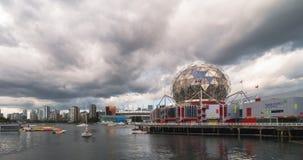 Σύγχρονη αρχιτεκτονική harborfront Timelapse του Βανκούβερ απόθεμα βίντεο