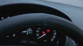 Σύγχρονη αυτοκινητική φωτισμένη έλεγχος επίδειξη ταχύτητας επιτροπής ταμπλό αυτοκινήτων φιλμ μικρού μήκους