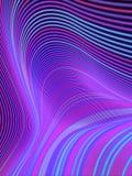 Σύγχρονη αφαίρεση ύφους με τη σύνθεση φιαγμένη από διάφορες μπλε χρωματισμένες γραμμές Γεωμετρικό σχέδιο ζωνών κυμάτων r διανυσματική απεικόνιση