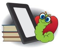 Σύγχρονη βιβλιόψειρα ελεύθερη απεικόνιση δικαιώματος