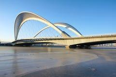 Σύγχρονη γέφυρα Στοκ Φωτογραφία