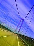 Σύγχρονη γέφυρα Στοκ Φωτογραφίες
