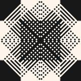Σύγχρονη εθνική διακόσμηση ύφους Σχέδιο με το πέρασμα των διαγώνιων γραμμών, λωρίδες, τετράγωνα διανυσματική απεικόνιση