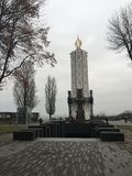 Σύγχρονη εκκλησία στο Κίεβο στοκ εικόνες