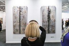 Σύγχρονη επίδειξη τέχνης της Ιστανμπούλ στοκ φωτογραφία με δικαίωμα ελεύθερης χρήσης